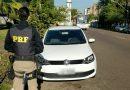 A Polícia Rodoviária Federal recuperou um veículo roubado conduzido por um menor de 16 anos em Novo Hamburgo