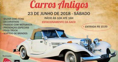 A AACD/RS realizará em Porto Alegre a 1ª Exposição de carros antigos com renda revertida para a instituição