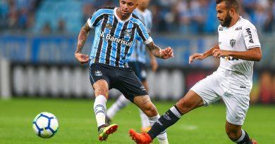 O Grêmio venceu o Atlético-MG por 2 a 0 pelo Brasileirão