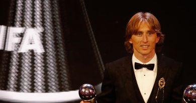 Luka Modric, do Real Madrid, é eleito o melhor jogador do mundo pela Fifa