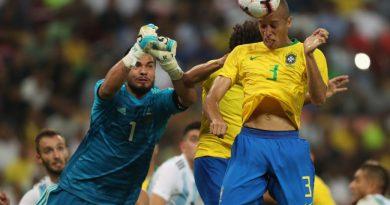 Em amistoso na Arábia Saudita, o Brasil venceu a Argentina por 1 a 0