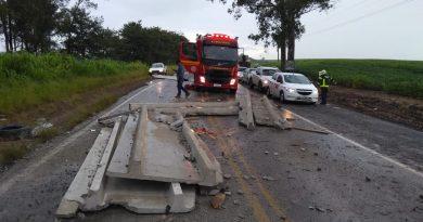 Acidente entre Carazinho e Não-Me-Toque deixa trânsito lento