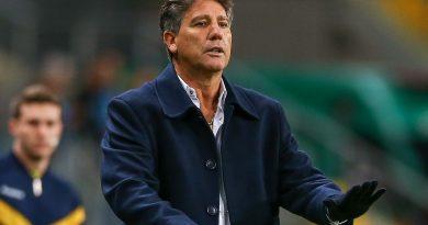 O técnico do Grêmio, Renato Portaluppi, quer 50 mil gremistas na Arena no próximo jogo da Libertadores