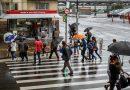 Chuva ainda chega para a maioria das regiões nesta sexta-feira