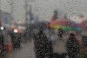 Chuva e queda de temperatura predominam nesta quarta