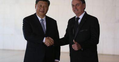 """""""A China cada vez mais faz parte do futuro do Brasil"""", diz Bolsonaro"""