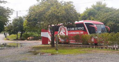 Inter tem treino fechado na preparação para encarar o Corinthians