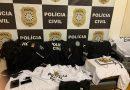Presa quadrilha que assaltava casas e estabelecimentos comerciais usando uniforme da Polícia Civil em Porto Alegre e na Região Metropolitana