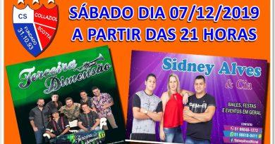AGENDA DE BAILE DE SÁBADO DIA 07/12/2019