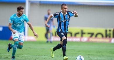 O Grêmio perdeu por 3 a 2 para o Goiás na última rodada do Brasileirão