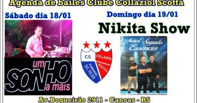 AGENDA DE BAILES CLUBE COLLAZIOL SCOTTÁ