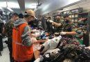 Defesa Civil realiza ação conjunta com o Exército para triagem de roupas da Campanha do Agasalho