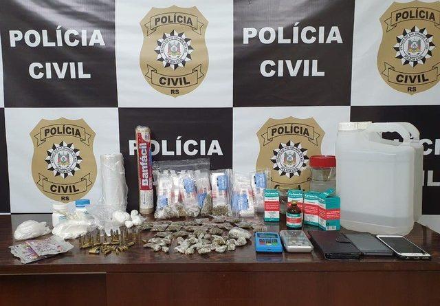 Vereador de Esteio é preso por tráfico de drogas