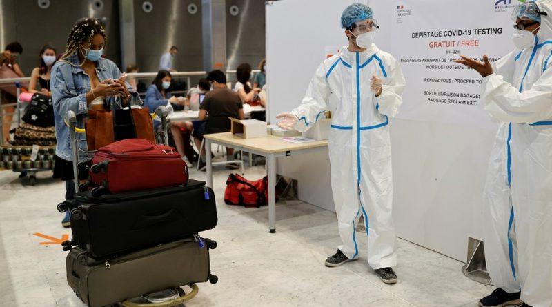 Mais de 550 passageiros internacionais passam por testes de coronavírus nos aeroportos de Paris