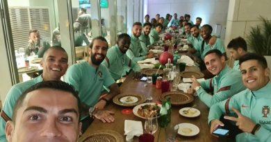 Craque português Cristiano Ronaldo testa positivo para o coronavírus
