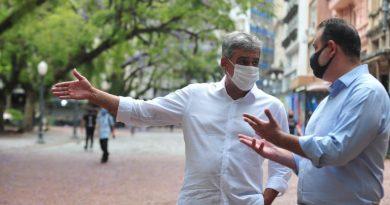 Melo quer revitalizar o Centro de Porto Alegre
