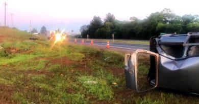 Acidentes de trânsito causam a morte de duas pessoas em rodovias federais no Rio Grande do Sul